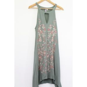 NWOT embroidered boho dress